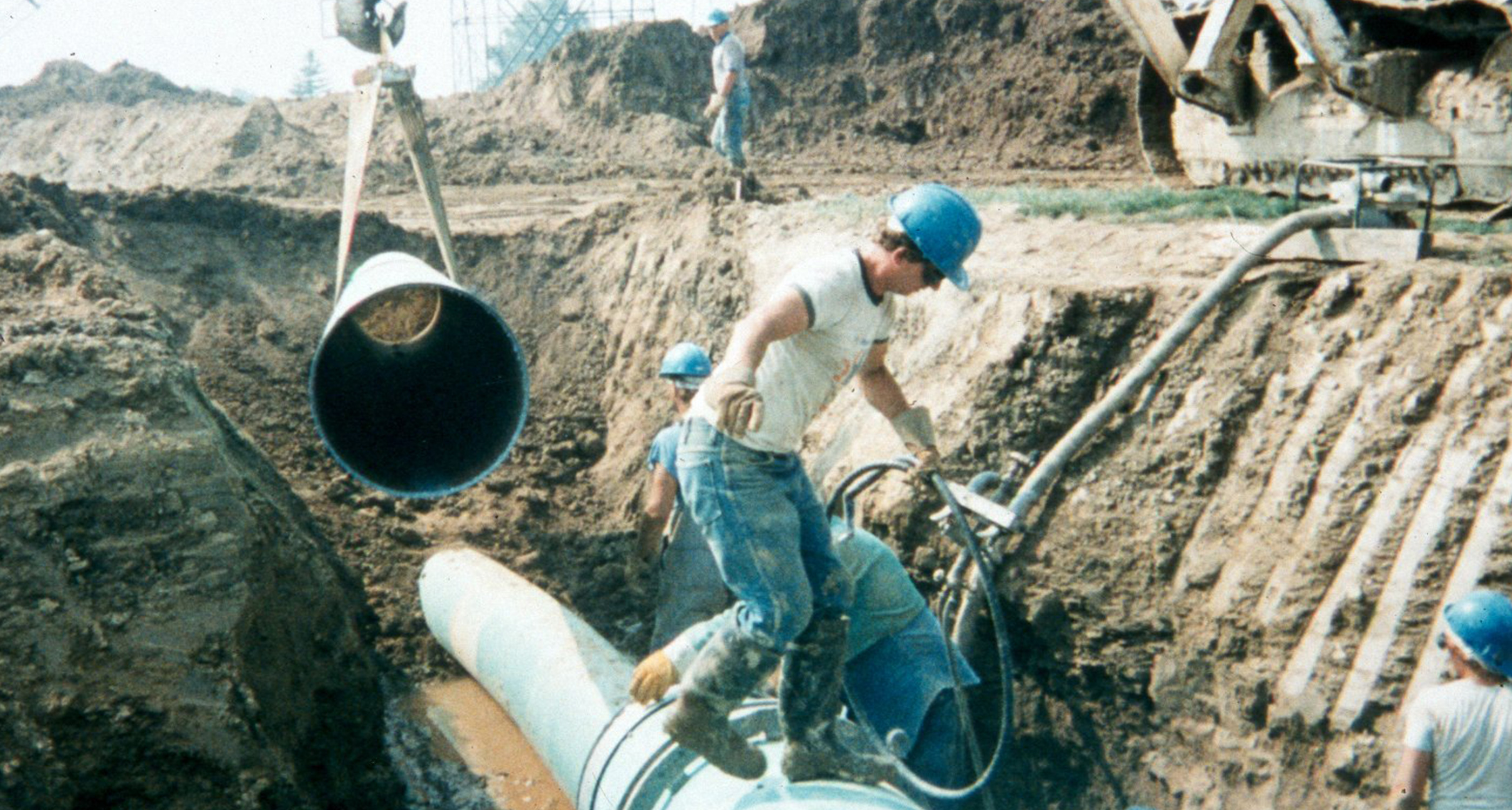 installing pipes